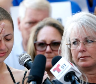 At rally, Parkland shooting survivors rail against gun laws, NRA and Trump