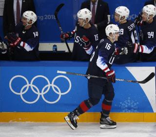 Team USA advances to men's hockey quarters, defeats Slovakia 5-1