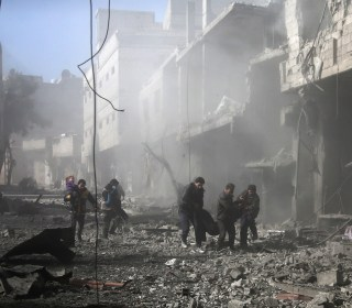 Bombing intensifies in Eastern Ghouta, Syria; 190 killed since Sunday
