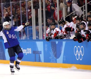 Olympic Moments: Team USA women's hockey win gold after shootout