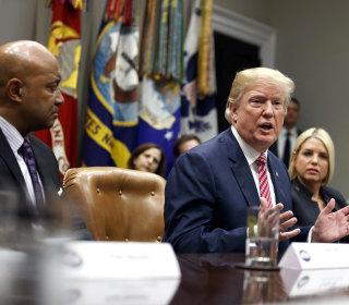 Trump floats pay bonus for teachers who carry guns in class