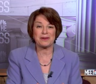 Sen. Klobuchar: Fining social media for bots is a 'great idea'