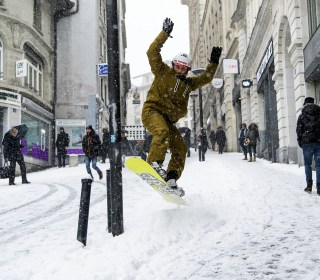 Extreme cold snap sweeps across Europe