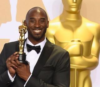 Kobe Bryant wins Oscar for his animated short 'Dear Basketball'