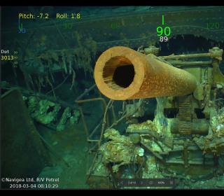 Wreckage of famed World War II USS Lexington aircraft carrier found off coast of Australia