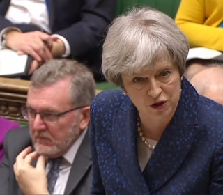 Prime Minister Theresa May accuses Labour leader Jeremy Corbyn of 'mansplaining'
