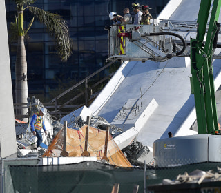 Miami bridge collapse death toll rises; homicide detectives, FBI scour scene