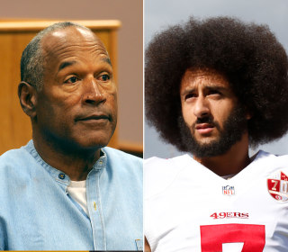 O.J. Simpson says Colin Kaepernick 'made a bad choice in attacking the flag'
