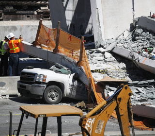 Engineers saw cracks in Miami bridge days before collapse
