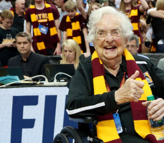 Meet 98-year-old Sister Jean, Loyola's team chaplain and No. 1 fan