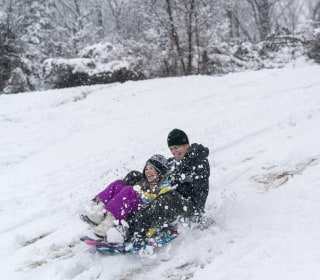 Every parent hates a snow day. But some have more reason to than others.
