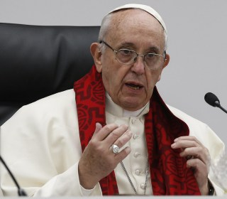 Pope Francis says prostitution is torture