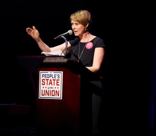 'Sex and the City' star Cynthia Nixon runs for N.Y. governor, challenging Cuomo