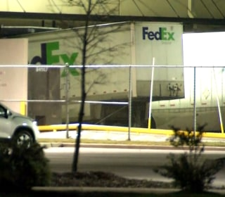 Package explodes at FedEx facility in Schertz, Texas
