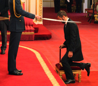 Ex-Beatle Ringo Starr knighted by Prince William in London ceremony