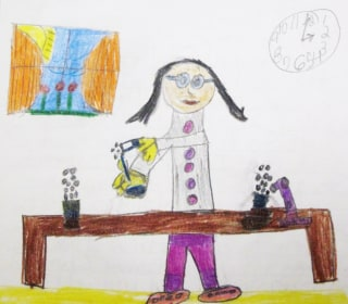 Girl power: Kids' drawings show changing perceptions of who can be a scientist