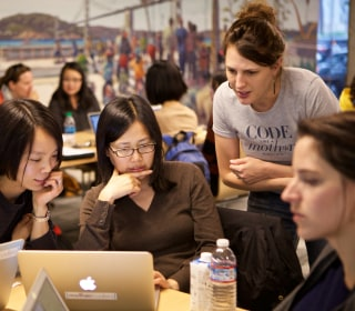 Nonprofit aims to diversify tech by helping mothers learn to code
