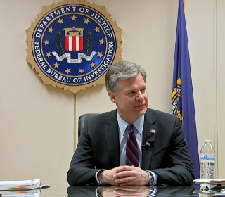 FBI chief on biggest threats: China spies, terror, rise in violent crime