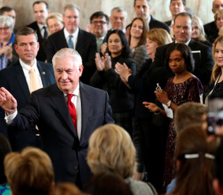 Tillerson says Washington 'can be a very mean spirited town' in farewell speech