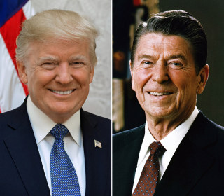 Reagan won over voters with his authenticity. But letting 'Trump be Trump' may prove trickier.