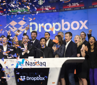 Dropbox shares close up 35 percent in biggest tech debut since Snap