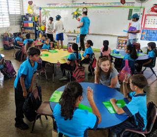 In Puerto Rico, school closings hit families, communities hard