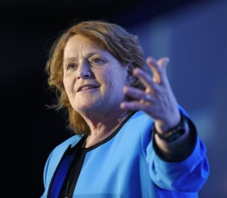 Heidi Heitkamp bets big on small-state politics to save her seat