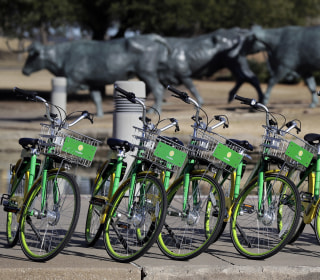 Dockless bikes promise the future of transportation, but litter the city of Dallas