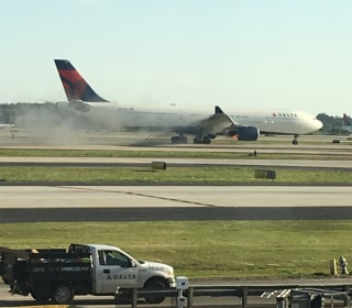 Delta plane makes emergency landing in Atlanta