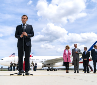 France's Macron brings his Trump charm offensive stateside