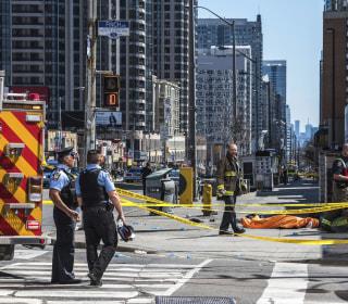 Nine killed, 16 injured in Toronto after van strikes pedestrians