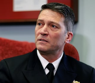 Confirmation hearing delayed for Ronny Jackson, Trump's VA Secretary pick