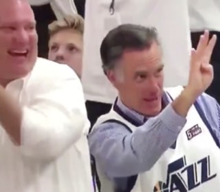 Mitt Romney taunts Russell Westbrook after fourth foul in chippy Game 4