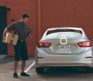 Amazon's newest service: delivering packages to your parked car