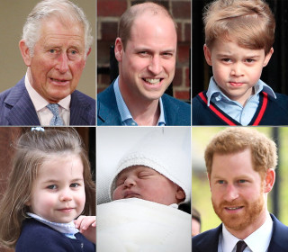 New royal baby altered line to British throne. Here's what it looks like now.