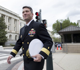 Ronny Jackson withdraws as Trump's nominee to head the VA