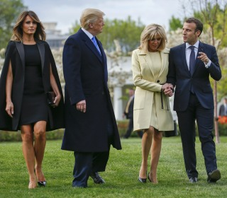 'He is perfect': Trump welcomes Macron during first state visit
