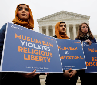 Supreme Court hears Trump travel ban, appears likely to survive review