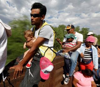 Follow the migrant caravan's journey through Mexico to the U.S. border