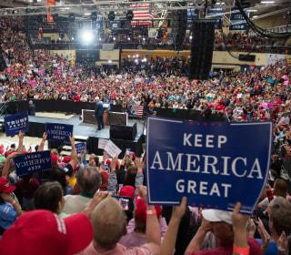 FIrst Read's Morning Clips: Trump targets 'Sleeping Joe' in Indiana