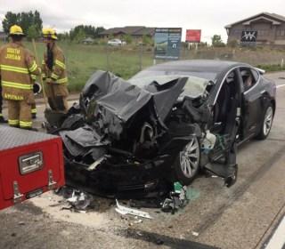 Tesla was in Autopilot mode before Utah crash, driver tells police