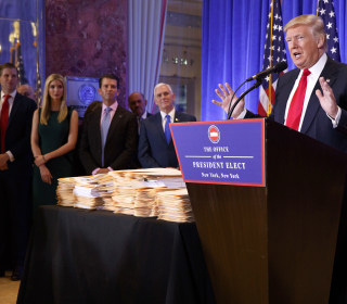 What Trump's disclosure of his 500 LLCs can and can't tell us