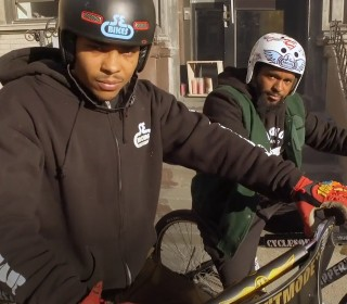 NYC bike crew gains Instagram fame with cool street tricks