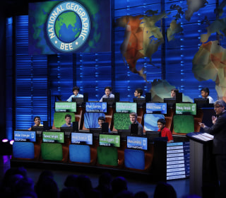 54 students are in the National Geographic Bee finals. Just 4 are girls.