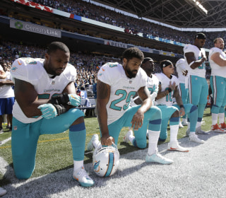 NFL halts anthem policy after Dolphins criticized for considering suspensions of players who protest