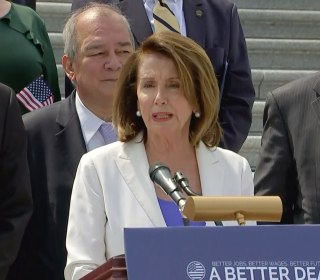 First Read's Morning Clips: At least 20 House Dem candidates won't back Pelosi