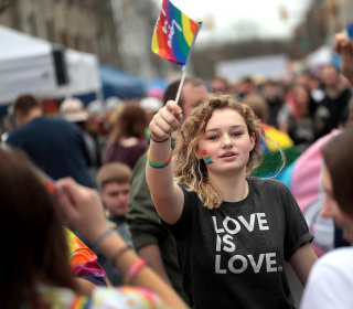 A record 4.5 percent of U.S. adults identify as LGBT, Gallup estimates
