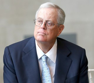 David Koch stepping down from business and political network