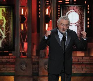 Robert De Niro drops the F-bomb on Trump — twice — at Tonys