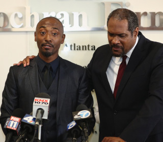 Black actor Darris Love held for seven hours after he is mistaken for burglar